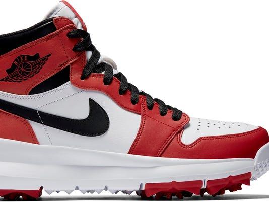 760ff5ccfb6f Golf Gear  Michael Jordan s iconic shoes hit golf course