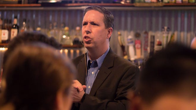 Backwoods Bistro hosted its first Policy Pub of the year, featuring speaker Dr. Tim Chapin on automated vehicles and how they will affect our communities and lifestyles.