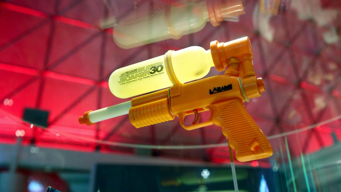 Elaborate squirt-gun game has teens competing and running naked in the suburbs