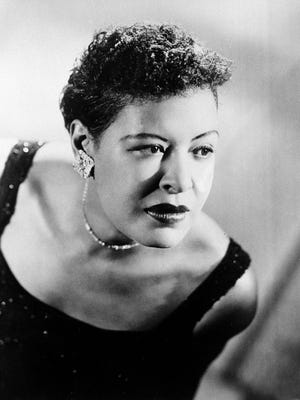 This Sept. 1958 file photo shows Billie Holiday.