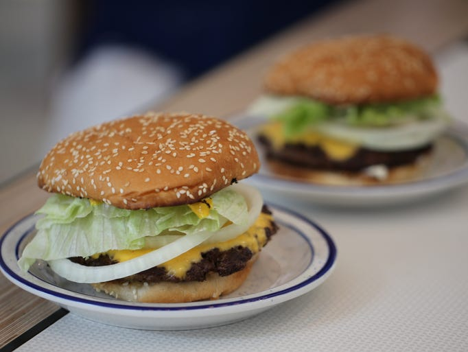 The Classic Smash burger from Lovers Only, a stylish