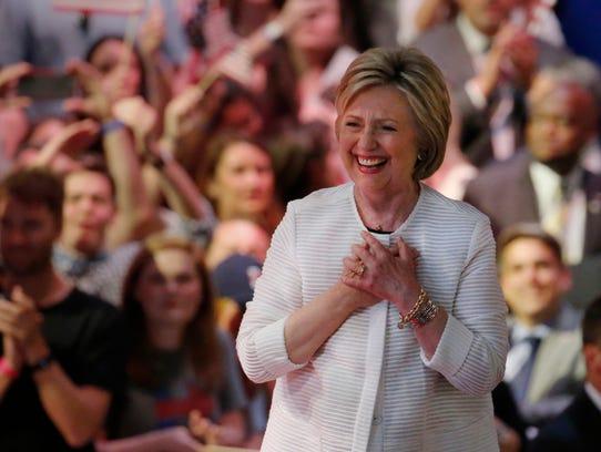 Hillary Clinton, candidata demócrata.