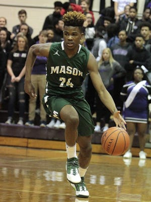 Kyle Lamotte scored 20 points in Mason's win over Middletown Friday.