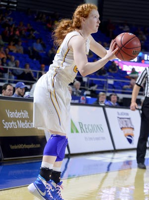 Westview's Mary Katherine Tucker is a junior for the Lady Chargers.
