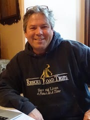Greg Mahle, owner of Rescue Road Trips, has placed more than 55,000 dogs in forever homes.