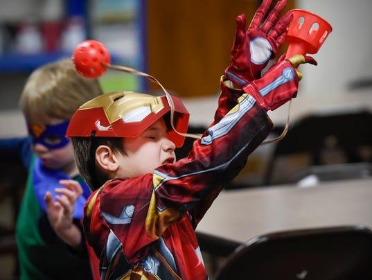Superhero Day 1