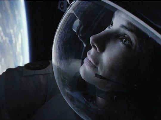 Sandra Bullock stars in 'Gravity'