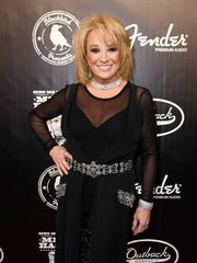 Tanya Tucker on the red carpet at the Merle Haggard