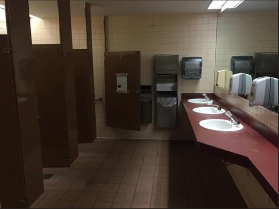 Dirac bathroom.