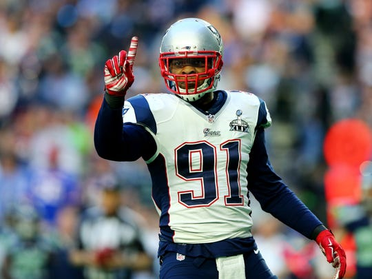 Jamie Collins is expected to step into a leadership role on the Detroit Lions this season.