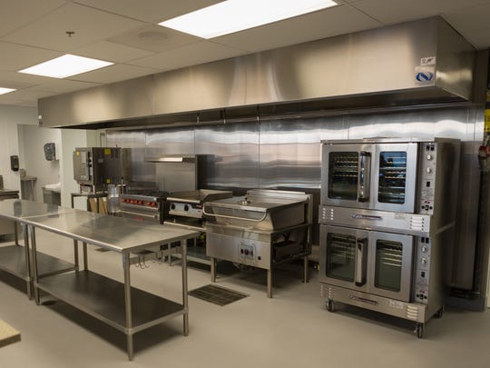 The new kitchen at the City Gospel Mission, more room for more meals.