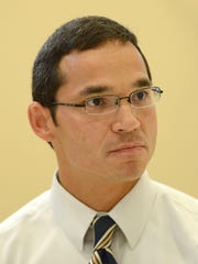 Dr. Shiloh Ramos, associate chief of staff at the Department of Veterans Affairs' Milo C. Huempfner VA Outpatient Clinic