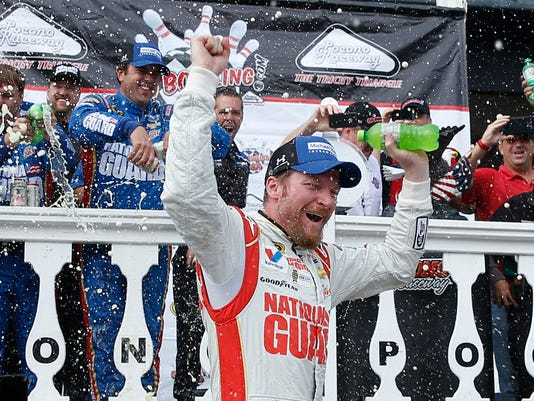 APTOPIX NASCAR Pocono_Trau.jpg
