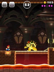 The Koopa king Bowser makes an appearance in Super Mario Run for iPad and iPhone.