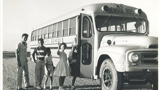 Cape Coral students had to adhere to a dress code in the early days of the city.
