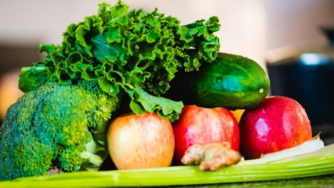 A variety of vegetables is seen in this photo provided by the University of Illinois Extension, Galesburg.