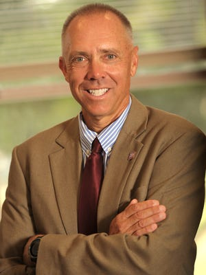 NMSU College of Engineering interim dean Steve Stochaj.