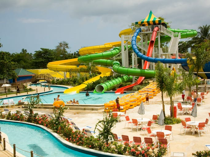 Get Wet At The Top Five Water Parks In The Caribbean