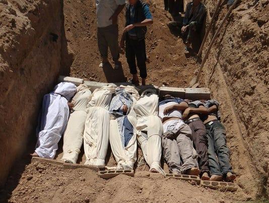 World leaders to Assad: Let U.N. inspect attack site