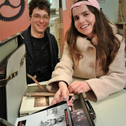Writers' Workshop students share love of poetry with Iowa City Suitcase Library