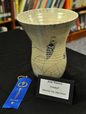 "A MUDD 2014 1st place winner, ""Cracked,"" by Jesse Warech of Montville Township High School."