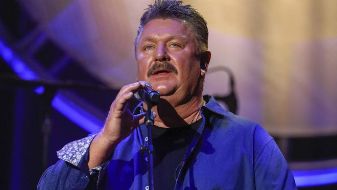 Joe Diffie performs at the 12th Annual ACM Honors at the Ryman Auditorium on Wednesday, Aug. 22, 2018 in Nashville, Tenn.