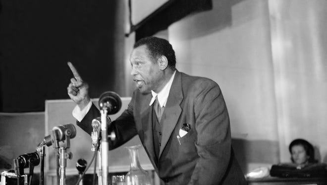 The great Paul Robeson: Still a giant.
