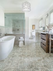 Granda Smoke tile pattern from Artistic Tile