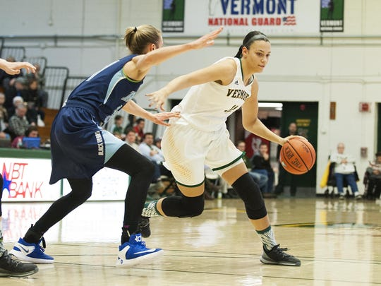 Maine vs. Vermont Women's Basketball 01/04/17