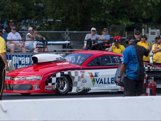 The NHRA Championship Drag Racing Summernationals hold