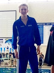Lakeland's Thomas Antishin was a Division 1 state placer last year in the 200 freestyle.