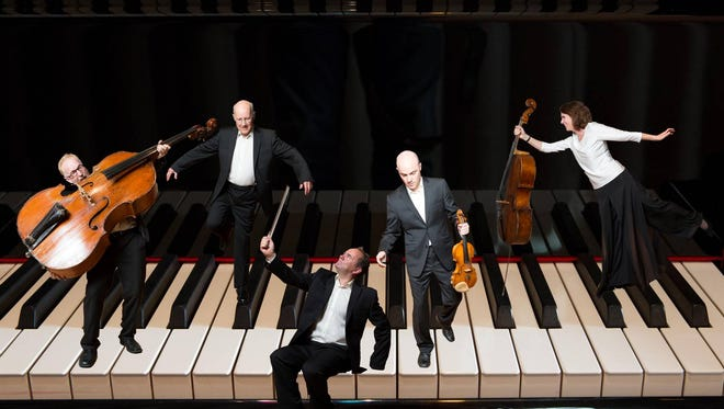 This photo illustration shows The Schubert Ensemble of London. The ensemble will perform on Oct. 7 in St. Cloud.