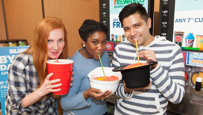 Bring your own clean cup to 7-Eleven this Saturday for BYOC Slurpee Day