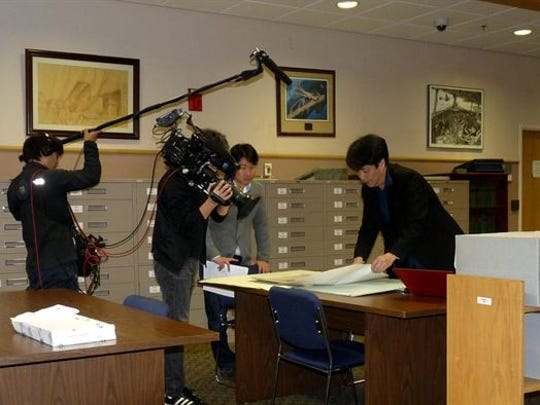 A Japanese broadcasting crew travels to Maxwell for