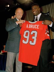 Montgomery native Aundray Bruce was the first overall pick in the 1988 NFL Draft.