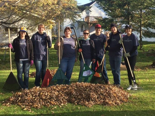 The Marshfield Area United Way will host its 15th annual annual leaf raking event on Oct. 28, 2017.
