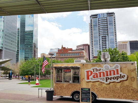 Hot pressed sandwiches will be served by the Panini