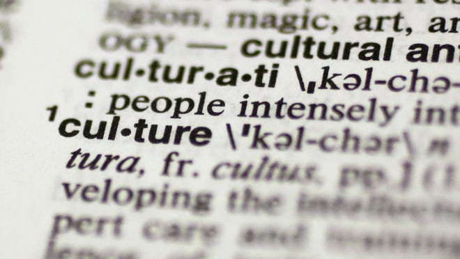 "The word ""culture"" in the Merriam-Webster's Collegiate Dictionary."