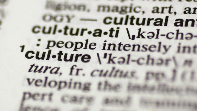"""The word """"culture"""" is seen in Merriam-Webster's Collegiate Dictionary. Merriam-Webster has named """"culture"""" its 2014 word of the year."""