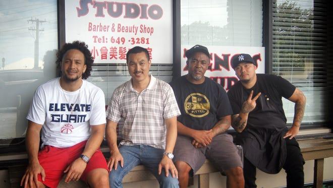 The barbers of Zeng's Studio.