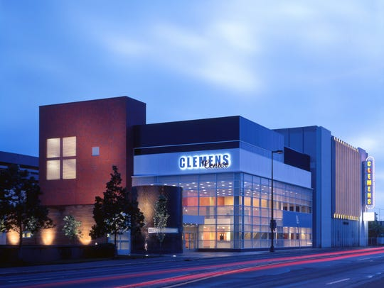 The Clemens Center is downtown Elmira's arts hub.