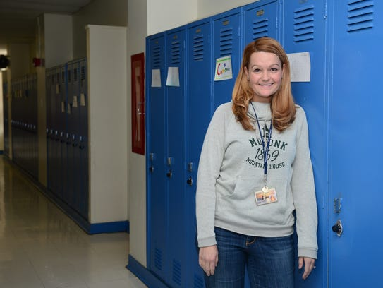 Richard A. Shields teacher Brandi Townsend, Thursday,