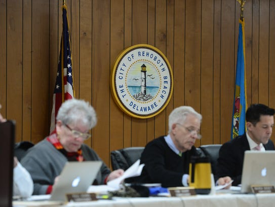 The City of Rehoboth Beach Commissioners meet Friday,