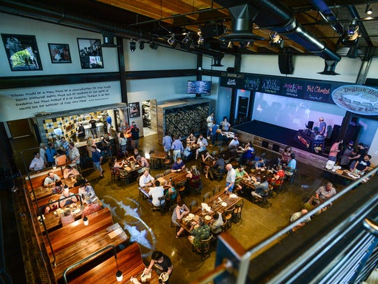 Dogfish head Brewings & Eats had a  sneak peak opening