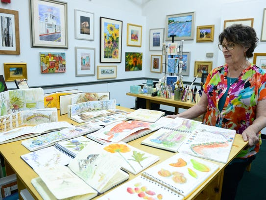 Rosemary Connelly talks about her sketchbook drawings