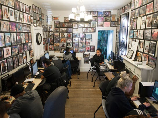 Interns work on various projects inside Hopeworks 'N