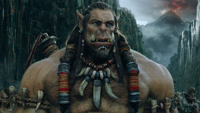 "Durotan (played via motion-capture by Toby Kebbell) is an orc whose ultimate goal is to keep his family safe in ""Warcraft."""