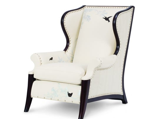 Hancock & Moore's Birdcage Wingback chair is made by