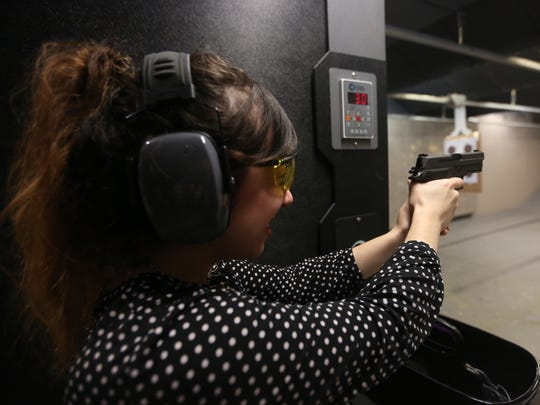 Naples Daily News reporter Ashley Collins takes aim