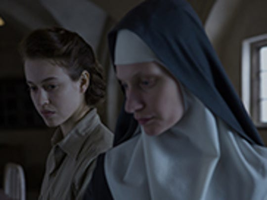"""Lou de Laage (left) and Agata Buzek star in the Polish drama """"The Innocents."""""""